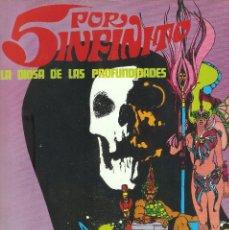 Cómics: 5 POR INFINITO - LA DIOSA DE LAS PROFUNDIDADES - ESTEBAN MAROTO - BURU LAN ED., 1974.. Lote 92739785