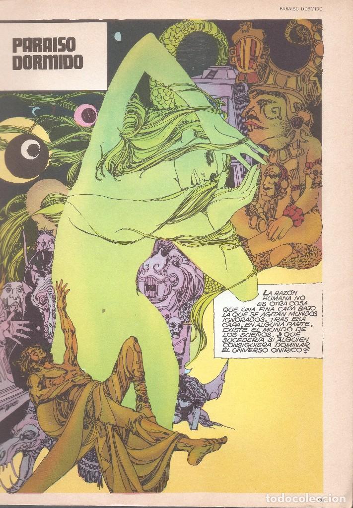Cómics: 5 POR INFINITO - LA DIOSA DE LAS PROFUNDIDADES - ESTEBAN MAROTO - BURU LAN ED., 1974. - Foto 2 - 92739785