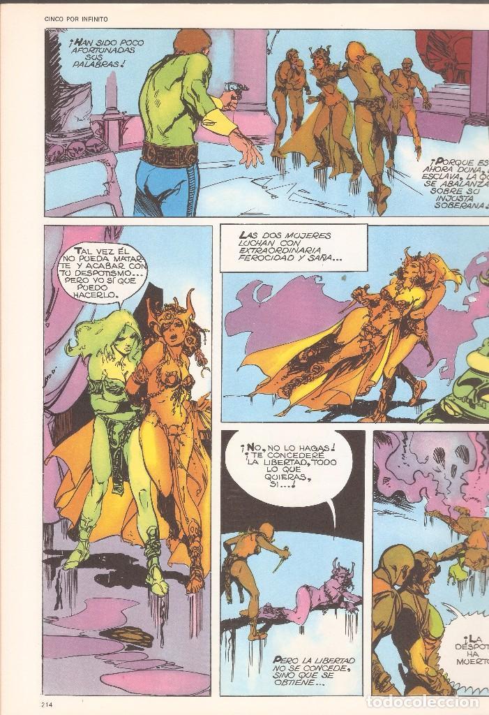 Cómics: 5 POR INFINITO - LA DIOSA DE LAS PROFUNDIDADES - ESTEBAN MAROTO - BURU LAN ED., 1974. - Foto 3 - 92739785