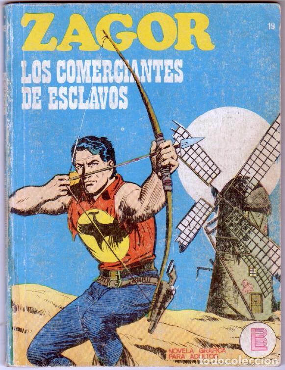 ZAGOR Nº 19 - BURULAN 1972 - 100 PGS (Tebeos y Comics - Buru-Lan - Zagor)