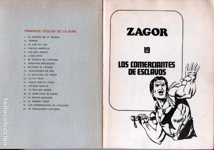 Cómics: ZAGOR Nº 19 - BURULAN 1972 - 100 PGS - Foto 2 - 92755375