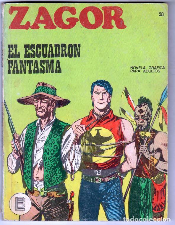 ZAGOR Nº 20 EDI. BURULAN 1972 - 100 PGS. (Tebeos y Comics - Buru-Lan - Zagor)