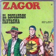 Cómics: ZAGOR Nº 20 EDI. BURULAN 1972 - 100 PGS.. Lote 92755505