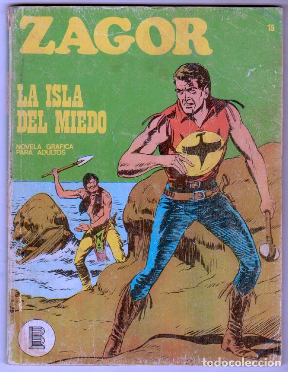ZAGOR Nº 15 EDI. BURULAN 1972 - 100 PGS. (Tebeos y Comics - Buru-Lan - Zagor)