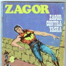 Cómics: ZAGOR Nº 13 EDI. BURULAN 1972 - 100 PGS. . Lote 92755810