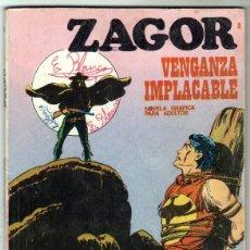 Cómics: ZAGOR Nº 8 - EDI. BURULAN 1972 - 100 PGS.. Lote 92755920
