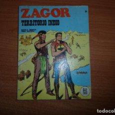 Cómics: ZAGOR Nº 26 - - TERRITORIO INDIO - BURU LAN 1972 BURULAN . Lote 93886550
