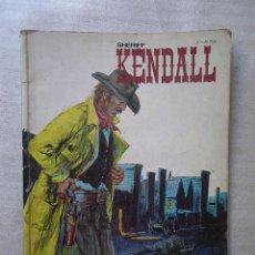 Cómics: SHERIFF KENDALL Nº 2 BURU LAN 1973. Lote 93972665