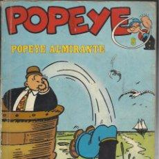 Cómics: POPEYE ALMIRANTE.. Lote 94463410