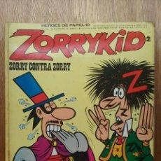 Cómics: ZORRYKID 2, ZORRY CONTRA ZORRY, BURULAN, BURU LAN, HEROES DE PAPEL 10, 1974. Lote 94464858