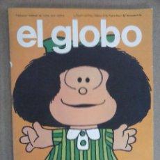 Cómics: EL GLOBO Nº 1 - CON MAFALDA DE QUINO - BURULAN 1973 - 66 PÁGINAS - 27 X 20,5 CMS - MAGNÍFICO ESTADO. Lote 94528686