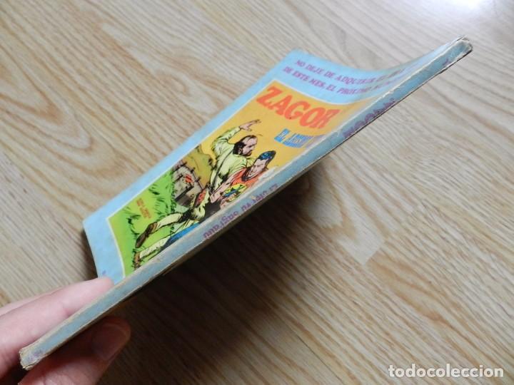 Cómics: ZAGOR Nº 17 EL CIERVO SAGRADO año 1972 BURU LAN ediciones novela grafica para adultos - Foto 2 - 94549795