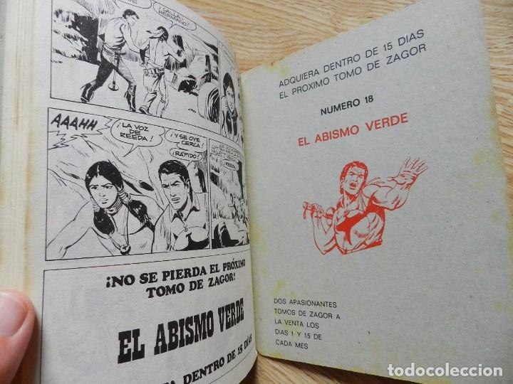 Cómics: ZAGOR Nº 17 EL CIERVO SAGRADO año 1972 BURU LAN ediciones novela grafica para adultos - Foto 6 - 94549795