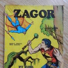 Cómics: ZAGOR Nº 3 EL ORO DEL RIO AÑO 1972 BURU LAN EDICIONES NOVELA GRAFICA PARA ADULTOS. Lote 94550211