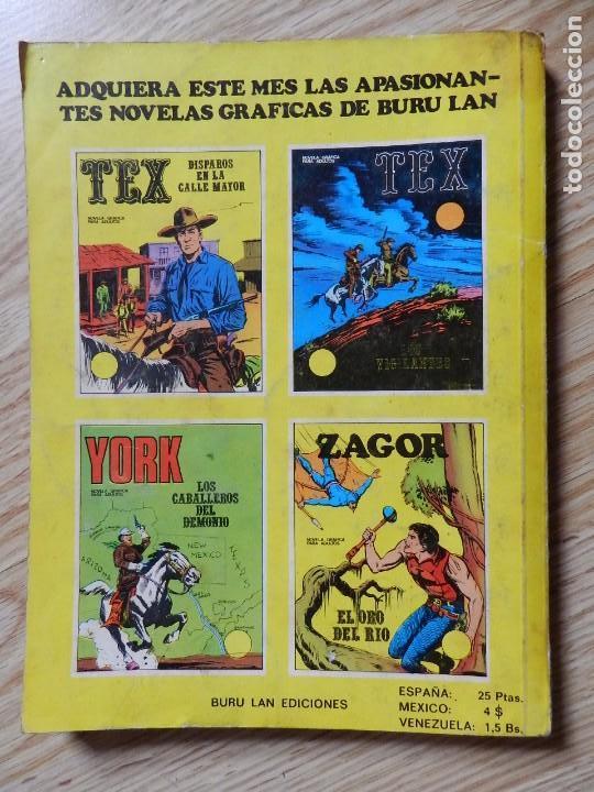 Cómics: ZAGOR Nº 3 EL ORO DEL RIO año 1972 BURU LAN ediciones novela grafica para adultos - Foto 3 - 94550211