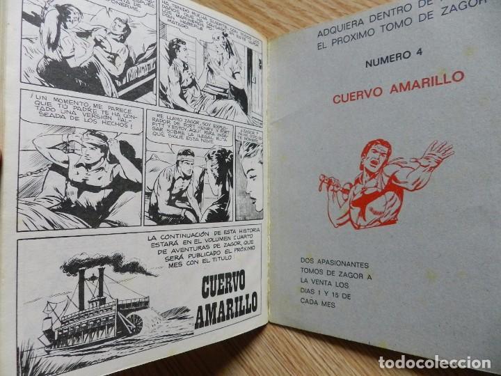 Cómics: ZAGOR Nº 3 EL ORO DEL RIO año 1972 BURU LAN ediciones novela grafica para adultos - Foto 6 - 94550211