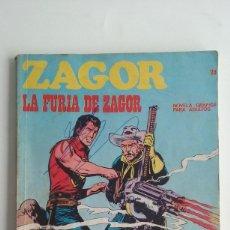 Cómics: ZAGOR/LA FURIA DE ZAGOR Nº28 EDITORIAL BURU LAN. . Lote 94646731