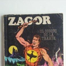 Cómics: ZAGOR/EL BOSQUE DE LA TRAMPA Nº1 EDITORIAL BURU LAN. . Lote 94646875