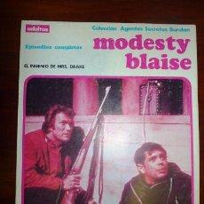 Cómics: MODESTY BLAISE. ALBUM 3 : EL INGENIO DE MRS. DRAKE. (AGENTES SECRETOS BURULAN). Lote 94846683