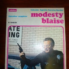 Cómics: MODESTY BLAISE. ALBUM 4 : EL TRAIDOR. (AGENTES SECRETOS BURULAN). Lote 94846699