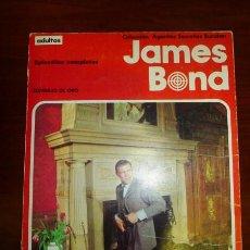 Cómics: JAMES BOND. ALBUM 2 : SOMBRAS DE ORO. (AGENTES SECRETOS BURULAN). Lote 94846815