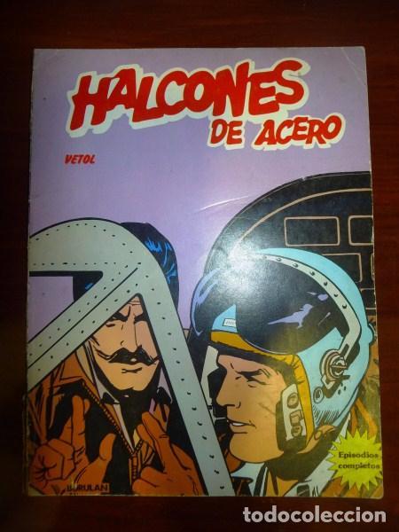 HALCONES DE ACERO. ALBUM 2 : VETOL (Tebeos y Comics - Buru-Lan - Halcones de Acero)