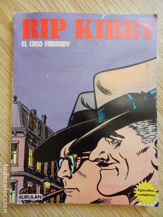 RIP KIRBY EL CASO FARADAY TOMO I BURULAN EPISODIOS COMPLETOS AÑO 1974 (Tebeos y Comics - Buru-Lan - Rip Kirby)