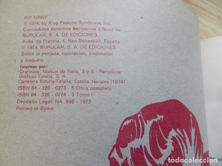Cómics: RIP KIRBY EL CASO FARADAY TOMO I BURULAN Episodios completos año 1974 - Foto 4 - 94999415