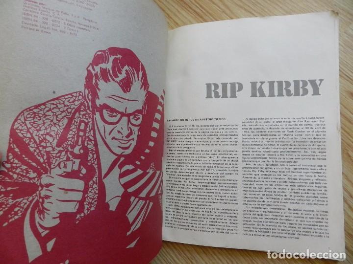 Cómics: RIP KIRBY EL CASO FARADAY TOMO I BURULAN Episodios completos año 1974 - Foto 5 - 94999415