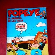 Cómics: POPEYE Nº10 EL SECRETO DE LAS ISLAS. Lote 95191227