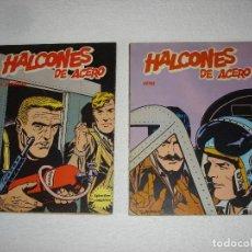 Cómics: HALCONES DE ACERO (ALBUMES I Y II) EL SECUESTRO Y VETOL - BURULAN EDICIONES 1973. Lote 95561751