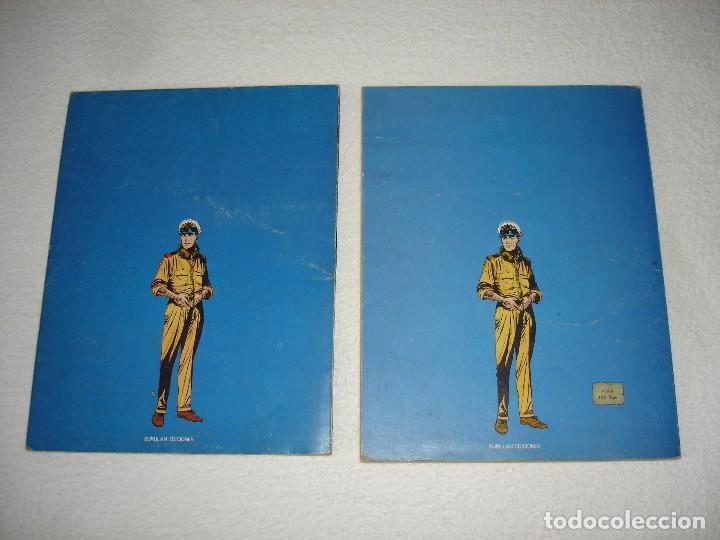 Cómics: HALCONES DE ACERO (ALBUMES I y II) EL SECUESTRO Y VETOL - BURULAN EDICIONES 1973 - Foto 4 - 95561751