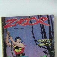 Cómics: ZAGOR NÚMERO 16 PUERTO JUÁREZ ZINCO 1983. Lote 95767667