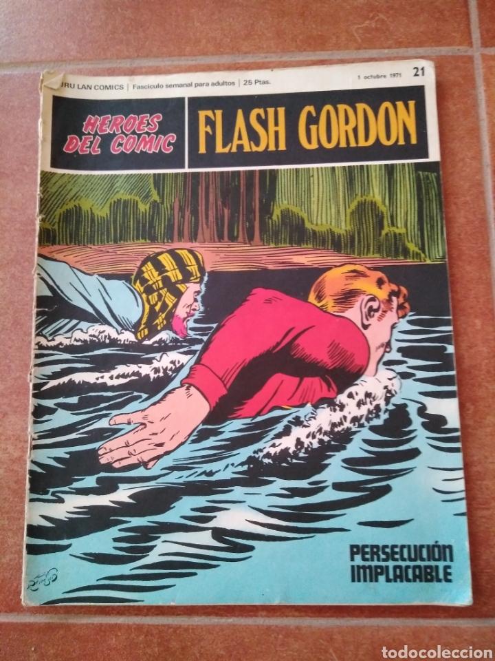 FLASH GORDON 21 (Tebeos y Comics - Buru-Lan - Flash Gordon)