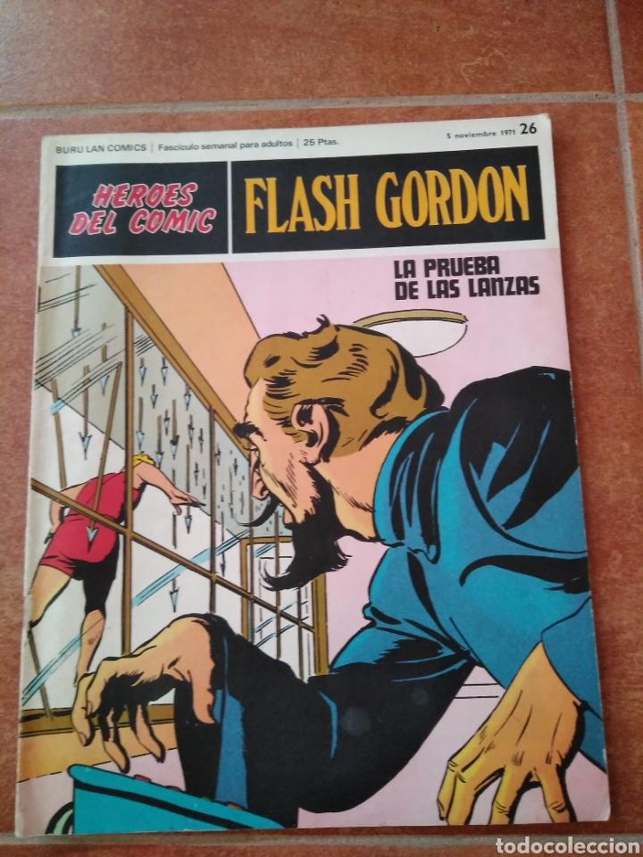 FLASH GORDON 26 (Tebeos y Comics - Buru-Lan - Flash Gordon)