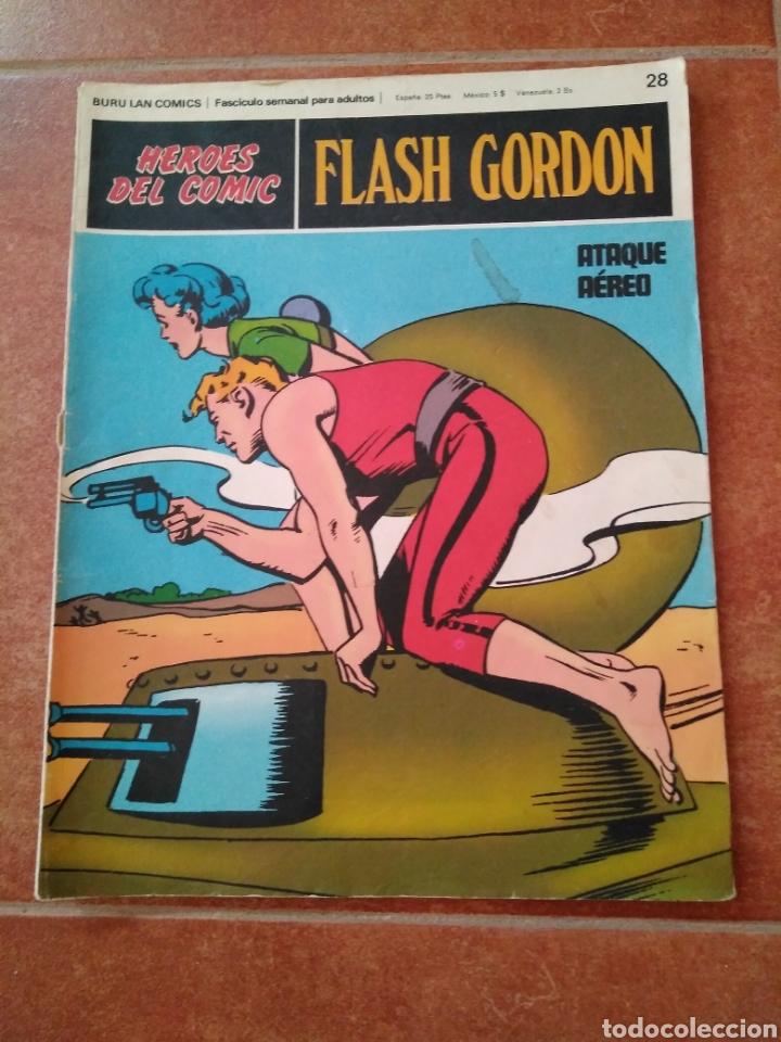 FLASH GORDON 28 (Tebeos y Comics - Buru-Lan - Flash Gordon)