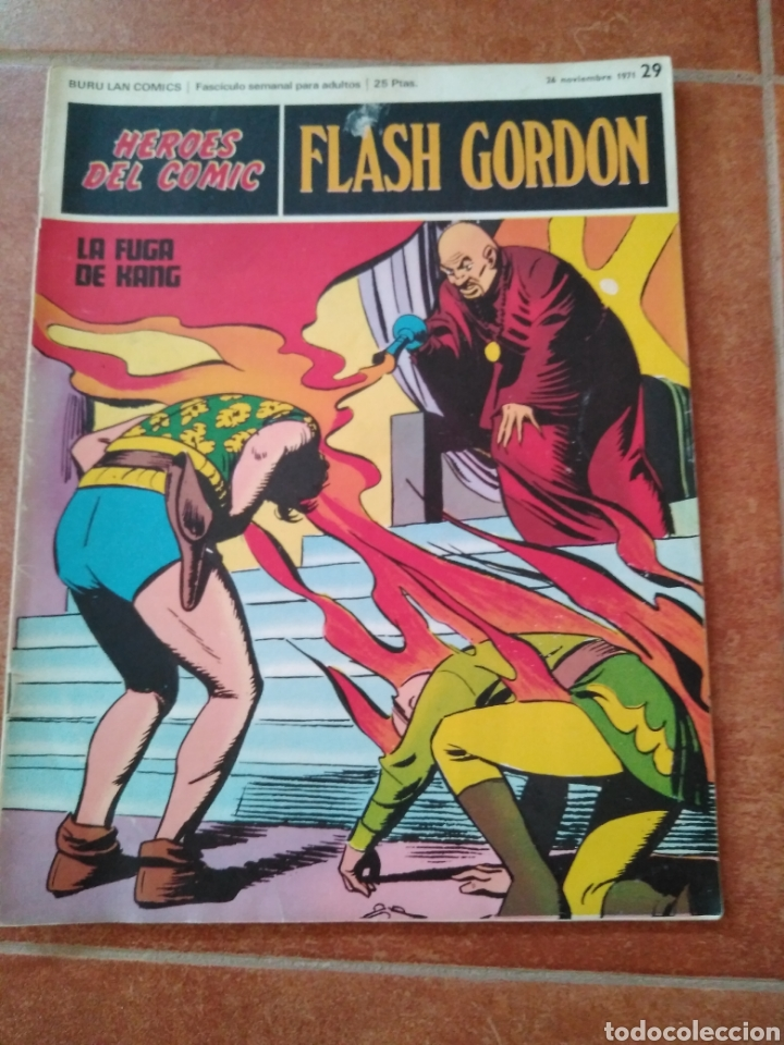 FLASH GORDON 29 (Tebeos y Comics - Buru-Lan - Flash Gordon)