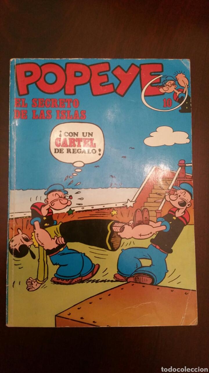 ANTIGUO COMIC DE POPEYE, N° 10 DE BURU LAN, S. A. BIEN CONSERVADO. AÑOS 70. (Tebeos y Comics - Buru-Lan - Popeye)