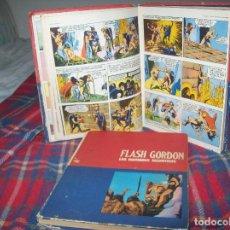 Cómics: FLASH GORDON . 2 TOMOS . TOMO 01 EL RAYO CELESTE / TOMO 02 LOS HOMBRES SELVÁTICOS. BURU LAN . 1972. Lote 96049151