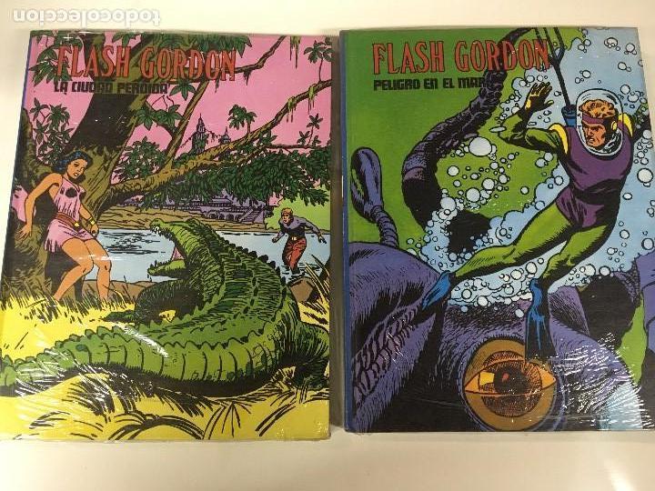 2 TOMOS BURU LAN FLASH GORDON,IX Y X CON EL CELOFAN ORIGINAL, POR ESTRENAR (Tebeos y Comics - Buru-Lan - Flash Gordon)