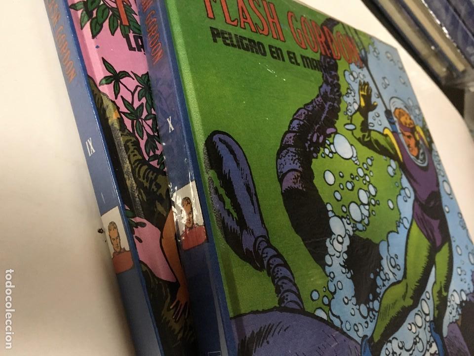 Cómics: 2 TOMOS BURU LAN FLASH GORDON,IX y X con el celofan original, por estrenar - Foto 2 - 96104287