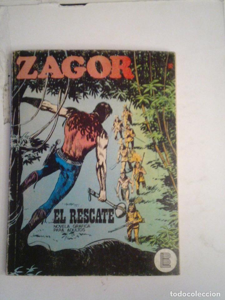 ZAGOR - BURU LAN - NUMERO 32 - EL RESCATE - BE - CJ 76 - GORBAUD (Tebeos y Comics - Buru-Lan - Zagor)