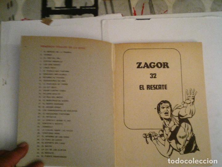 Cómics: ZAGOR - BURU LAN - NUMERO 32 - EL RESCATE - BE - CJ 76 - GORBAUD - Foto 2 - 96133047