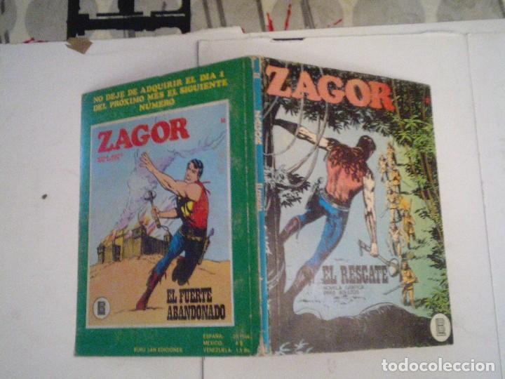 Cómics: ZAGOR - BURU LAN - NUMERO 32 - EL RESCATE - BE - CJ 76 - GORBAUD - Foto 5 - 96133047