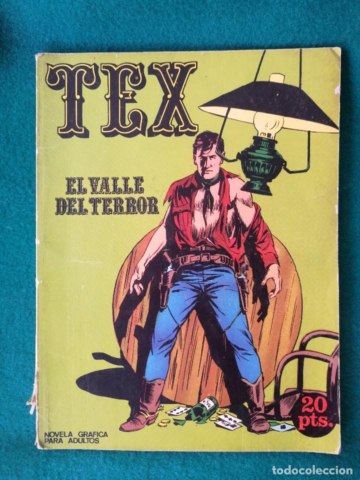 TEX Nº 1 BURU LAN – EL VALLE DEL TERROR 1970 (Tebeos y Comics - Buru-Lan - Tex)