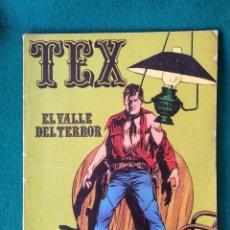 Cómics: TEX Nº 1 BURU LAN – EL VALLE DEL TERROR 1970. Lote 96189559