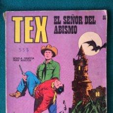 Cómics: TEX Nº 58 BURU LAN – EL SEÑOR DEL ABISMO. Lote 96189719