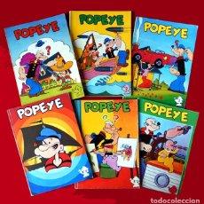Cómics: POPEYE EL MARINO, COLECCIÓN DE 6 EJEMPLARES, EDICIONES MAISAL 1976. Lote 97162967