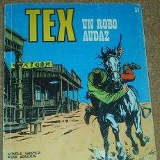 Cómics: TEX Nº 34 - BURU LAN - FORMATO TACO. Lote 97314163