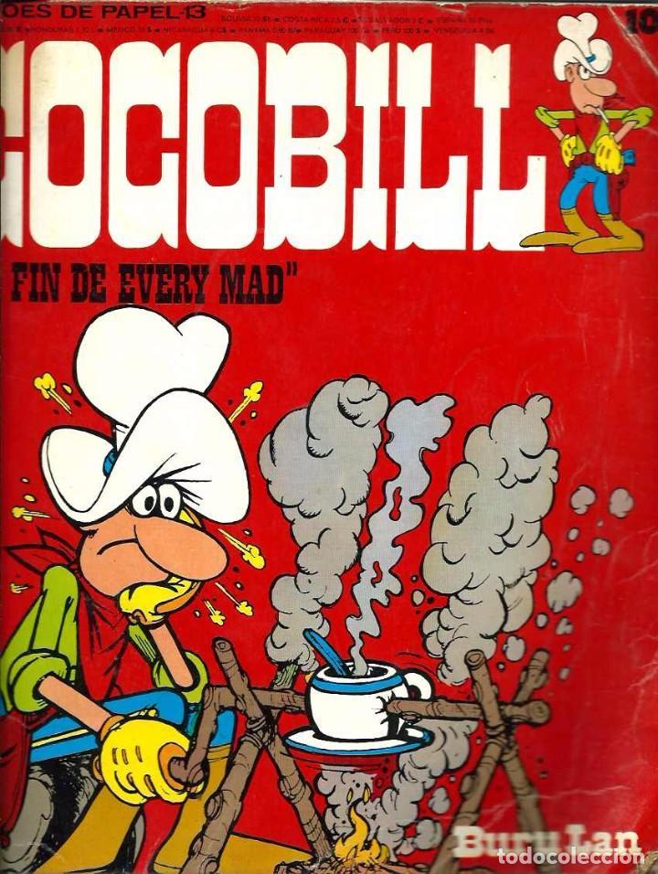 HEROES DE PAPEL Nº 13 - COCOBILL Nº 10 - EL FIN DE EVERY MAD - BURU LAN 1974 - VER DESCRIPCION (Tebeos y Comics - Buru-Lan - Otros)